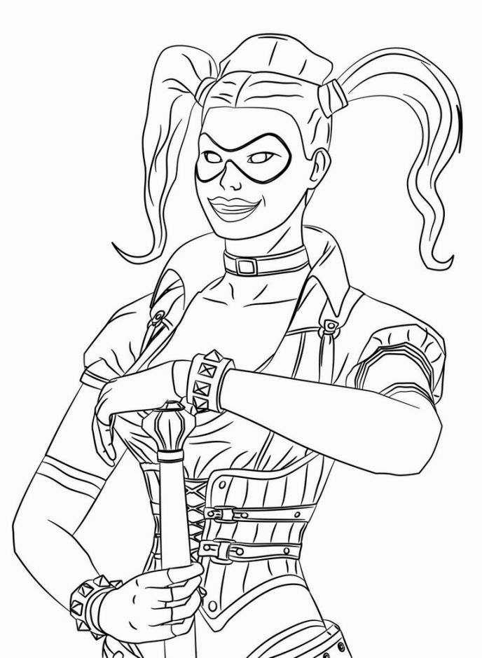 free harley quinn coloring pages get this harley quinn coloring pages 1dct pages harley free quinn coloring