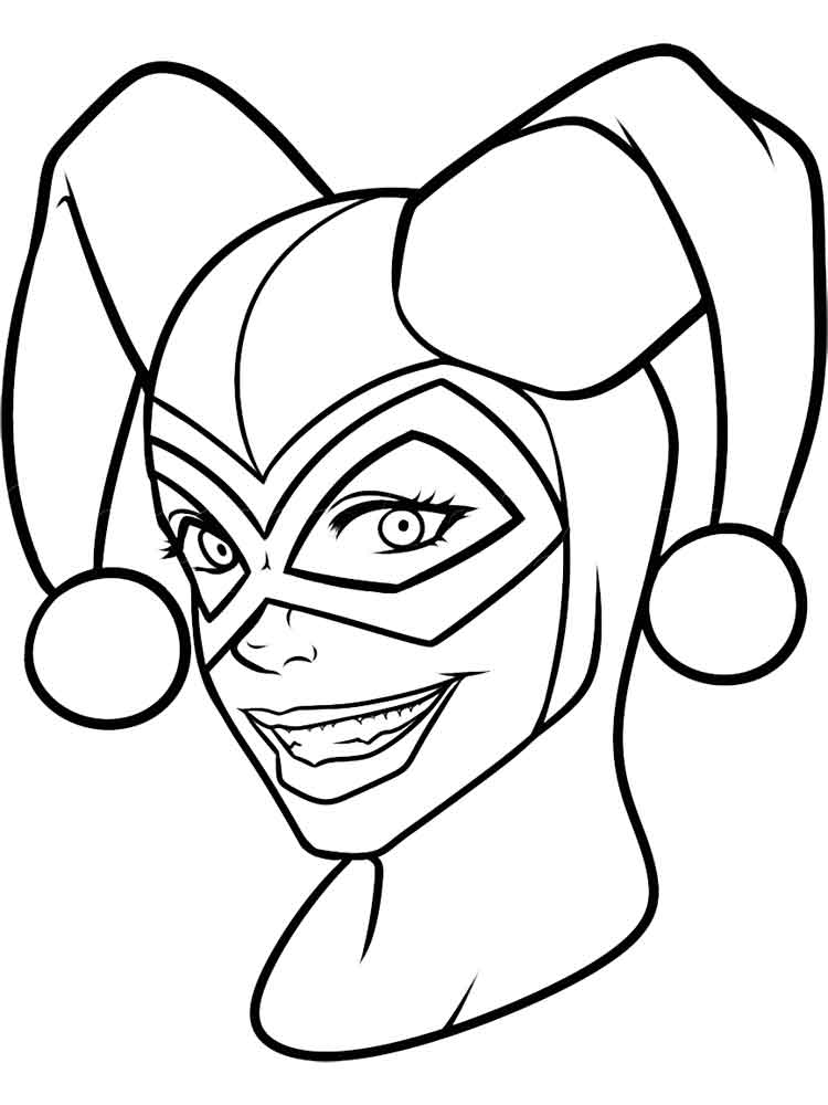 free harley quinn coloring pages get this harley quinn coloring pages to print 3bdk free quinn harley coloring pages