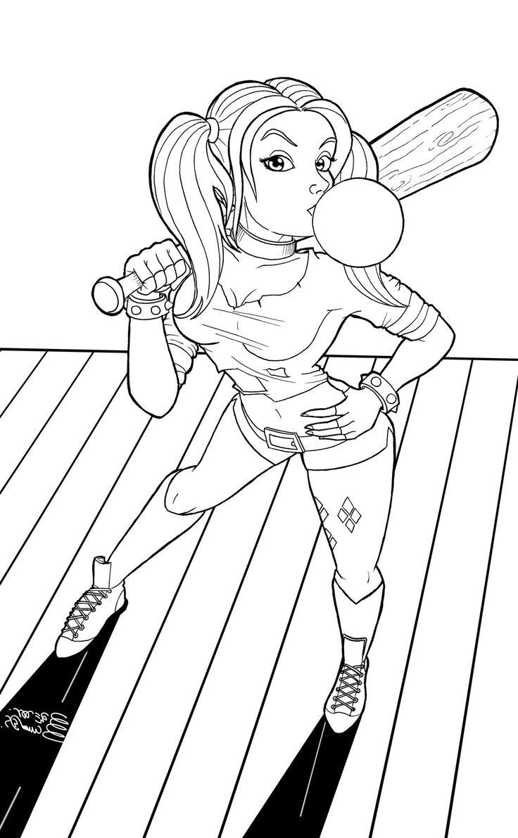 free harley quinn coloring pages pin on coloring 2 pages coloring free harley quinn