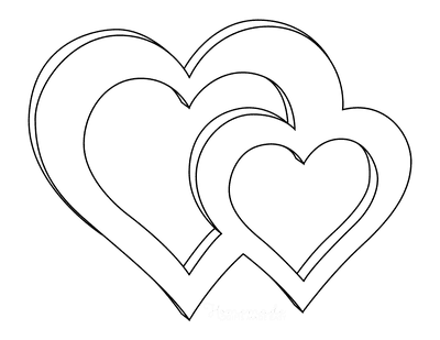 free heart coloring pages 70 best heart coloring pages free printables for kids heart coloring pages free