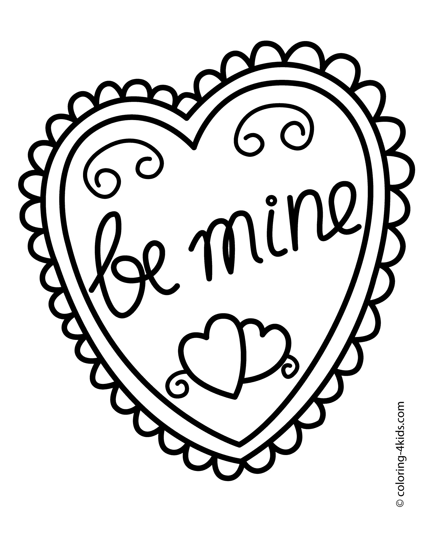 free heart coloring pages detailed heart coloring pages at getcoloringscom free pages coloring free heart