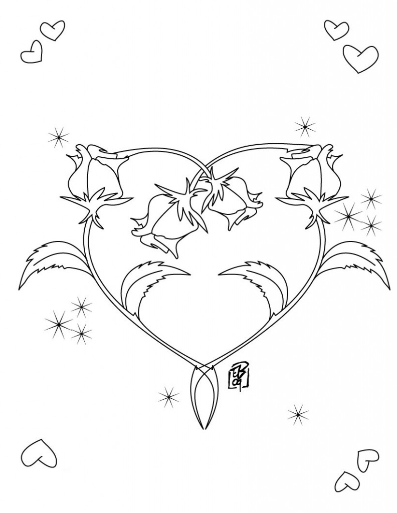 free heart coloring pages free printable heart coloring pages for kids free heart pages coloring