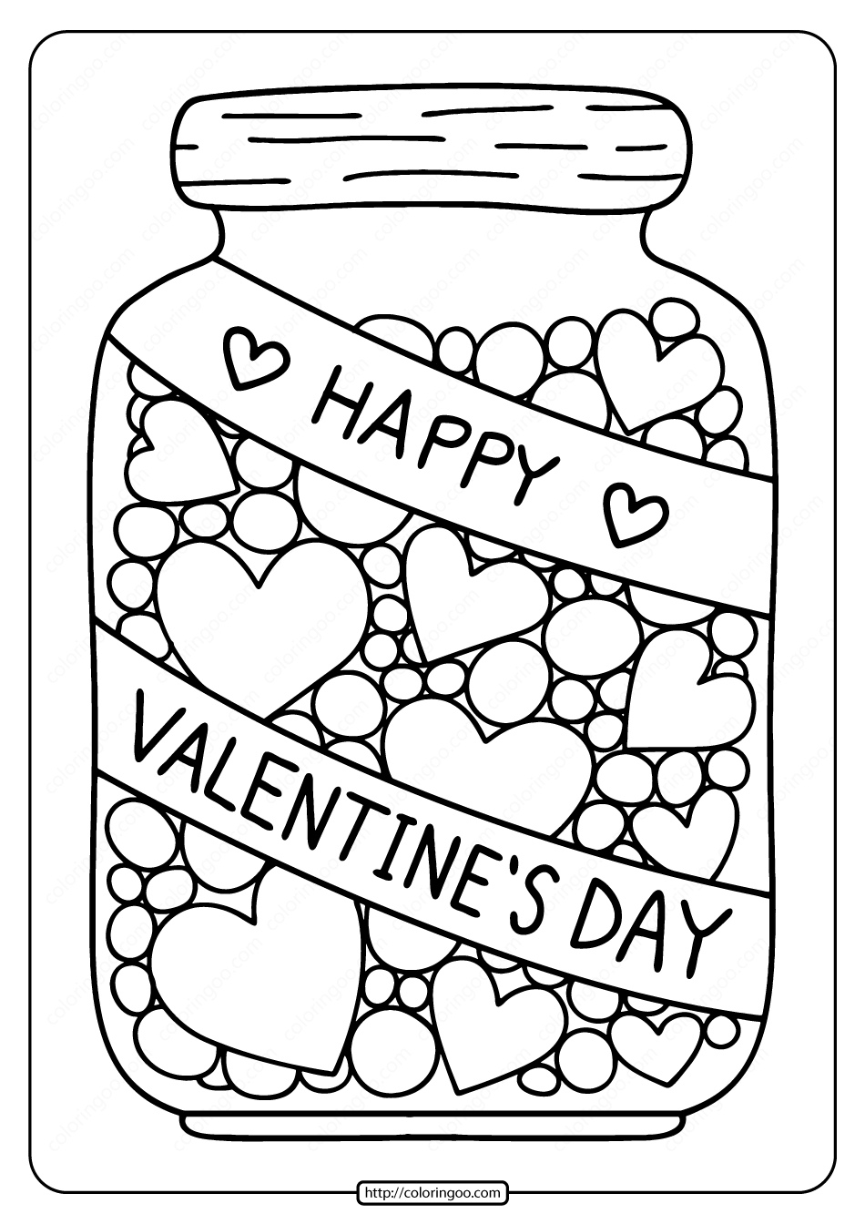 free heart coloring pages free printable hearts in a jar coloring page pages heart free coloring