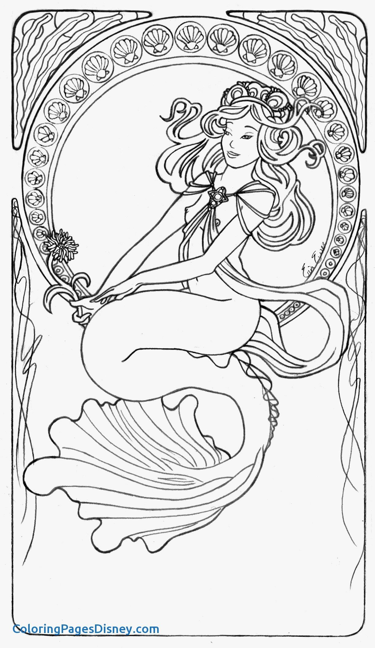 free mermaid coloring pages the little mermaid coloring pages to download and print mermaid pages coloring free