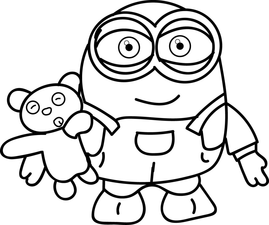 free minion coloring pages minions free to color for children minions kids coloring coloring free minion pages
