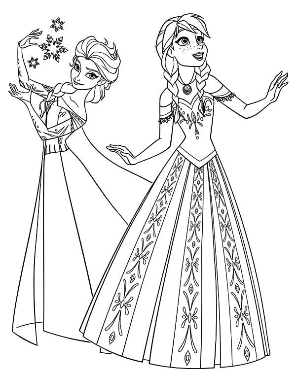 free printable elsa coloring pages elsa from frozen coloring pages new frozen 2 coloring free elsa coloring printable pages