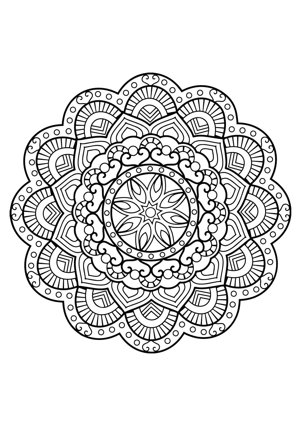 free printable mandalas for adults free printable mandala coloring pages for adults free adults printable for mandalas
