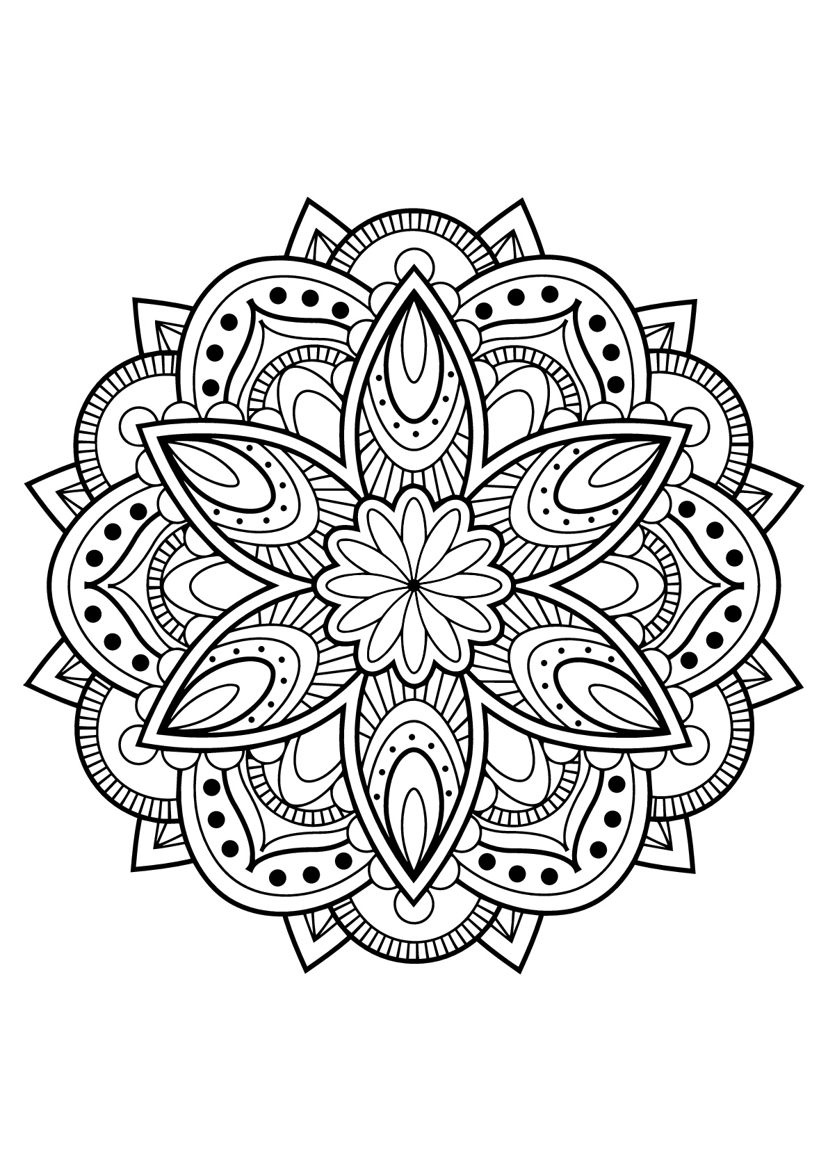 free printable mandalas for adults mandala from free coloring books for adults 13 malas free printable adults for mandalas