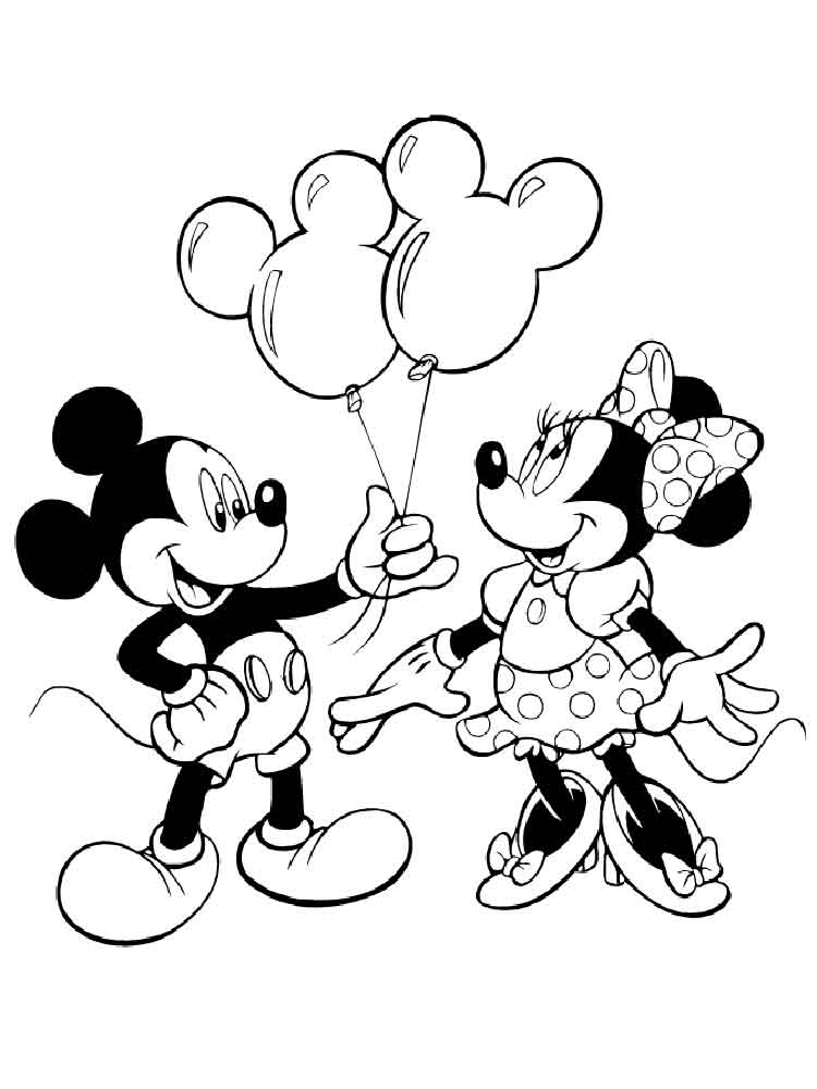free printable mickey and minnie mouse coloring pages free printable mickey and minnie mouse coloring pages and coloring mickey pages free mouse printable minnie