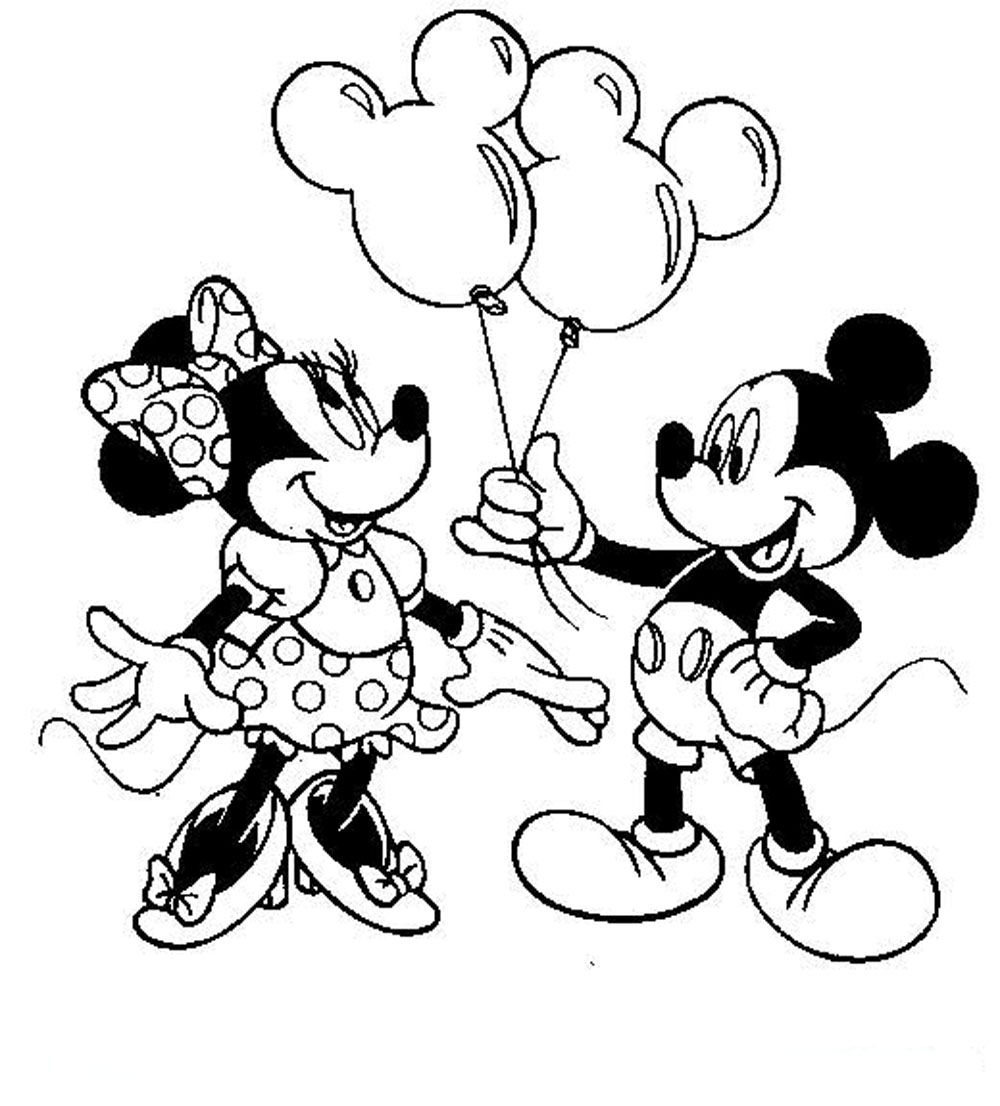 free printable mickey and minnie mouse coloring pages mickey and minnie mouse coloring pages free at printable free mickey coloring pages mouse and minnie