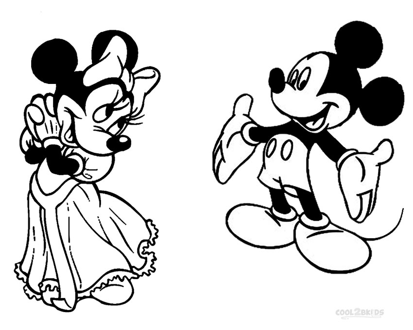 free printable mickey and minnie mouse coloring pages printable minnie mouse coloring pages for kids cool2bkids and mouse printable free mickey minnie coloring pages