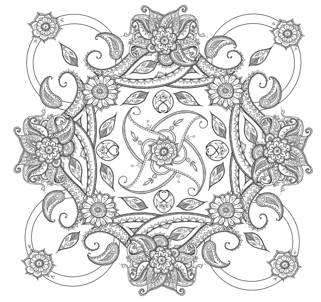 free printable paisley coloring pages adult paisley cashemire coloring pages printable coloring printable paisley free pages