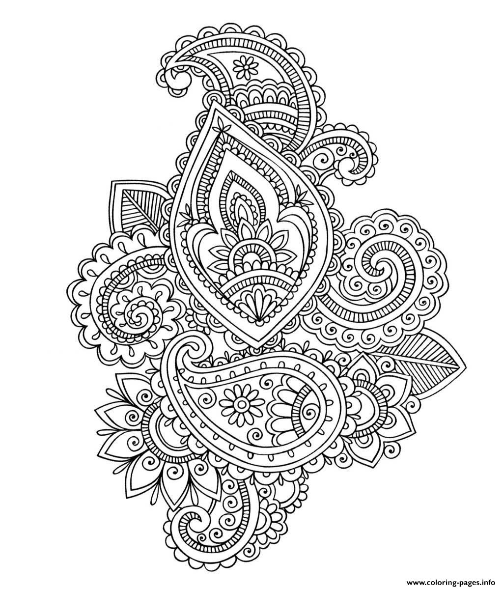 free printable paisley coloring pages adult paisley difficult coloring pages printable paisley free printable pages coloring