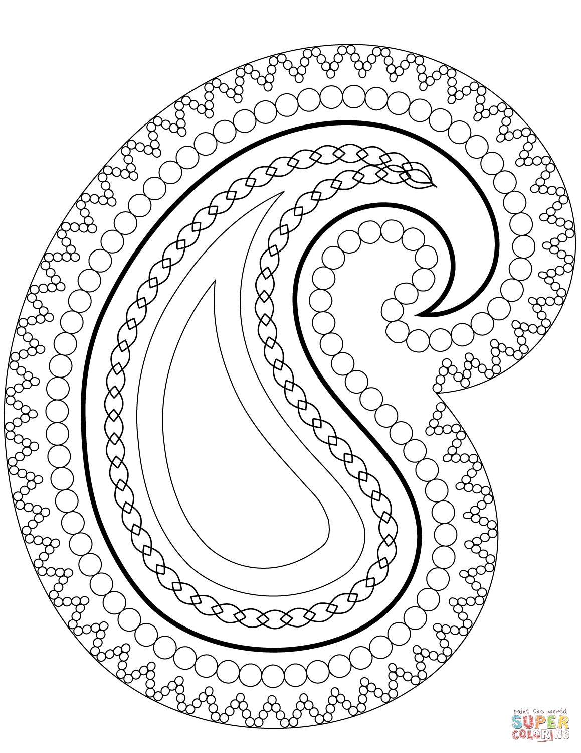 free printable paisley coloring pages free printable paisley coloring pages for adults paisley printable pages coloring free