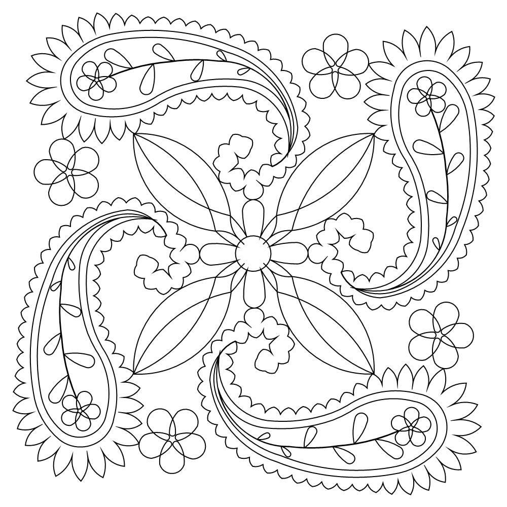 free printable paisley coloring pages paisley coloring pages printable at getcoloringscom pages printable free paisley coloring