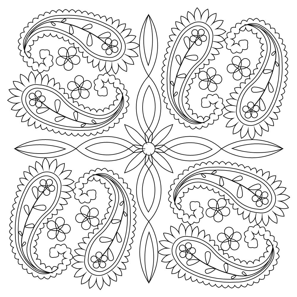 free printable paisley coloring pages paisley pattern coloring pages at getdrawings free download pages printable coloring paisley free