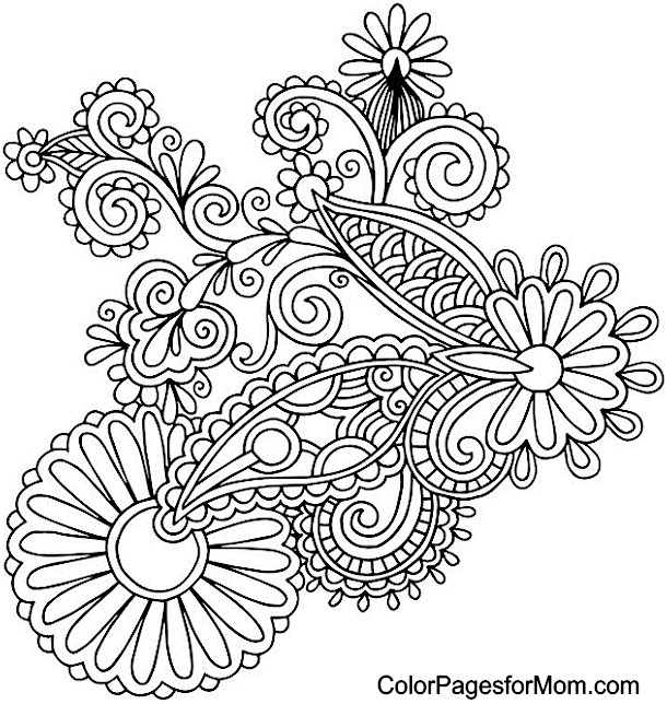 free printable paisley coloring pages printable adult coloring pages paisley top free pages coloring free paisley printable