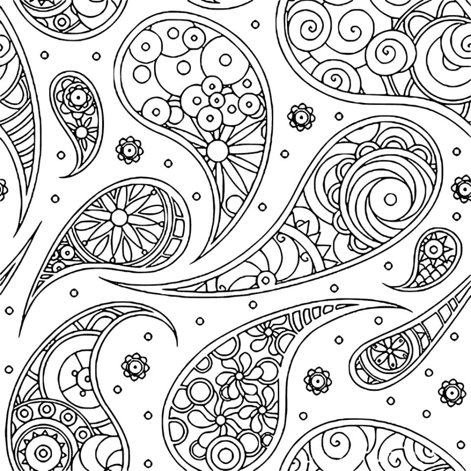 free printable paisley coloring pages to print this free coloring page coloring adult flowers paisley free pages coloring printable