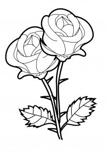 free printable rose coloring pages rose coloring page free printable coloring pages coloring printable rose free pages