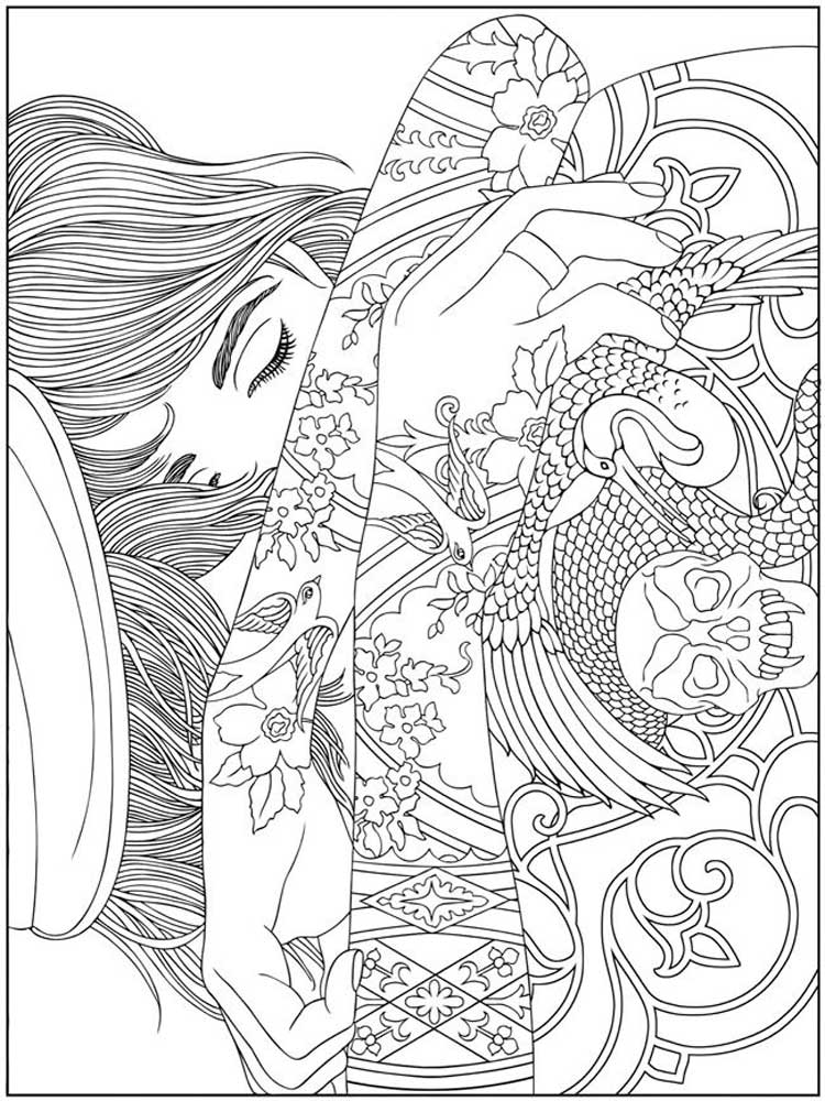 free tattoo coloring pages free tattoo coloring pages coloring pages tattoo free