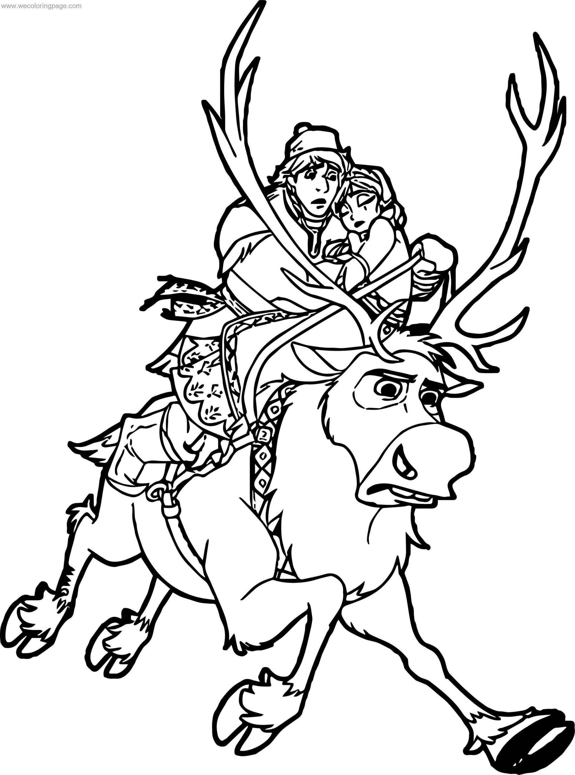 frozen sven coloring pages sven coloring pages coloring home sven frozen pages coloring