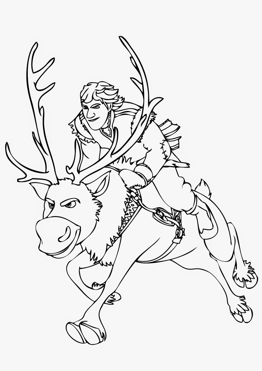 frozen sven coloring pages sven frozen coloring pages at getdrawings free download pages coloring frozen sven