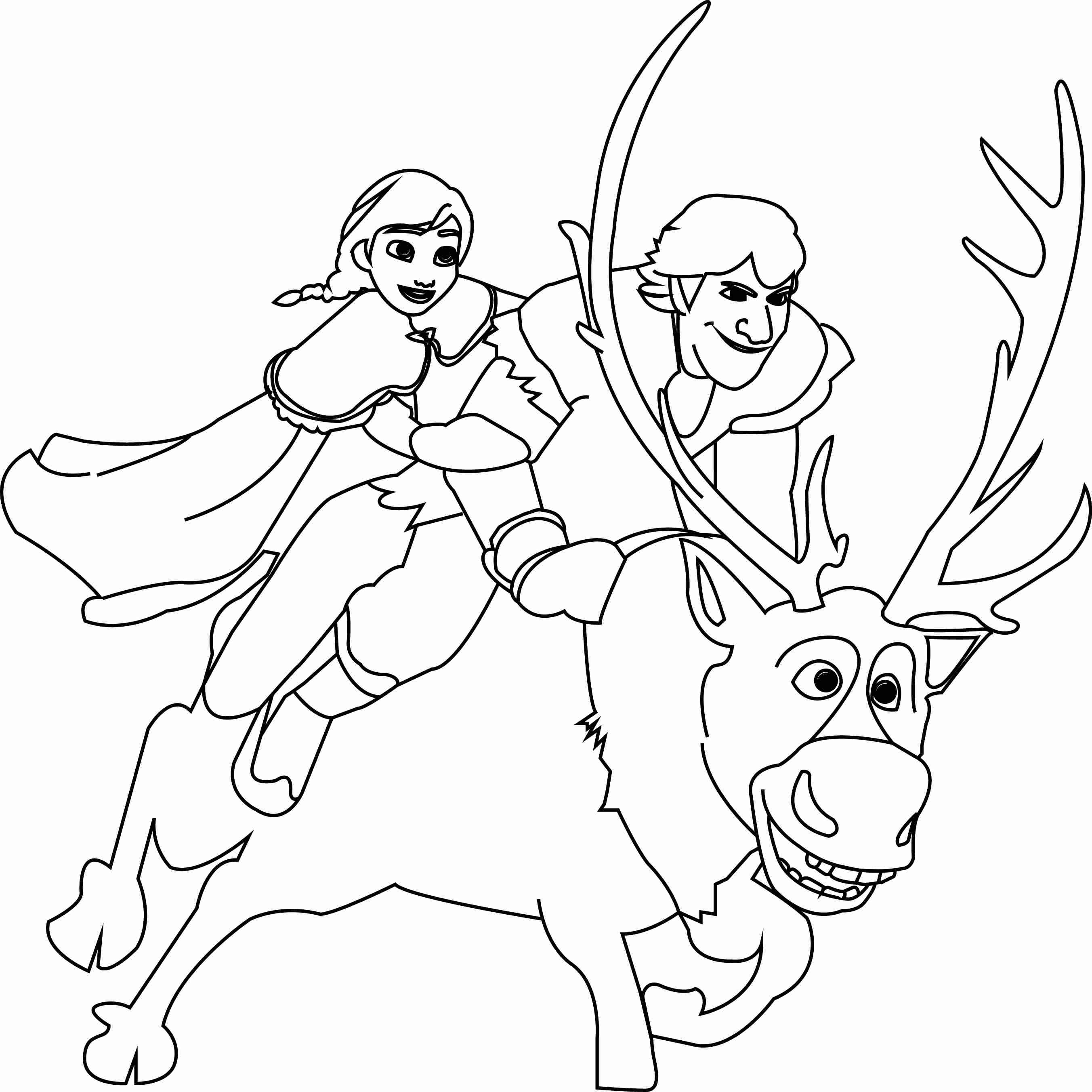 frozen sven coloring pages sven frozen coloring pages at getdrawings free download sven coloring frozen pages