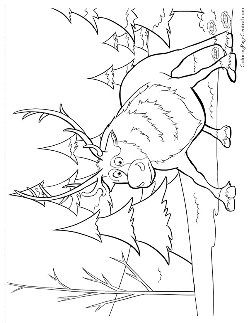 frozen sven coloring pages sven pages coloring pages sven coloring pages frozen