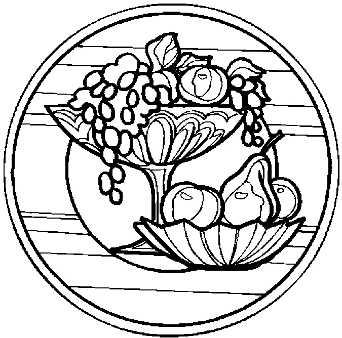 fruit bowl coloring page bowl of fruit coloring pages coloring pages to download fruit coloring bowl page