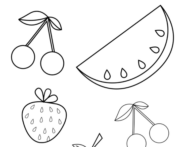 fruit coloring for kids coloring books for kids fruits pdf in 2020 with images fruit kids coloring for