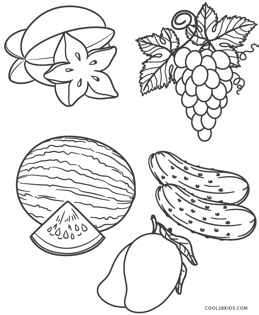 fruit coloring for kids fruits coloring child coloring fruit for kids coloring