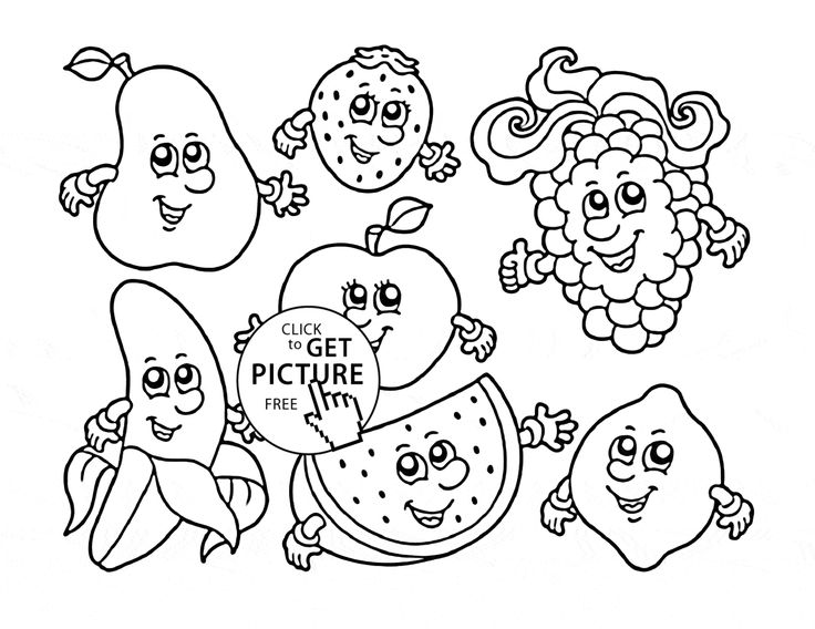 fruit coloring for kids fruits coloring pages for kids coloring sheets kids for coloring fruit