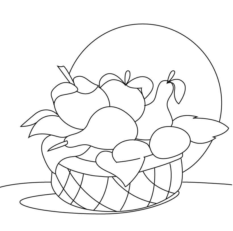 fruit coloring for kids pear coloring pages best coloring pages for kids for fruit kids coloring