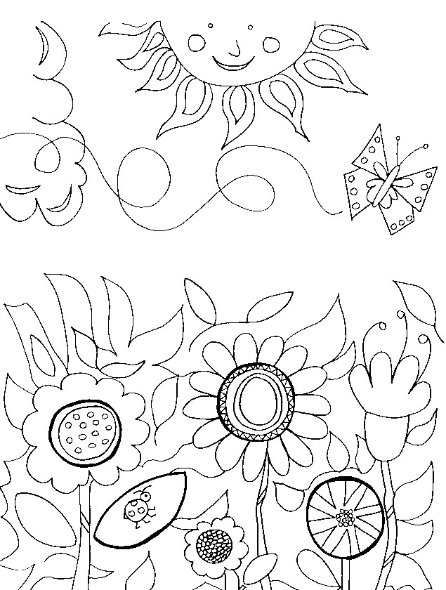 garden coloring page adult coloring page 3 in garden series 1 coloring page garden