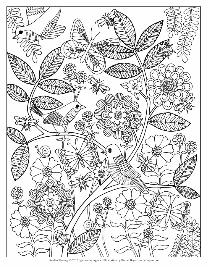 garden coloring page free coloring pages printable pictures to color kids garden page coloring