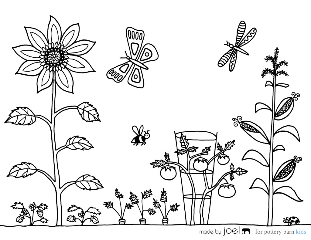 garden coloring page garden coloring pages to download and print for free garden coloring page