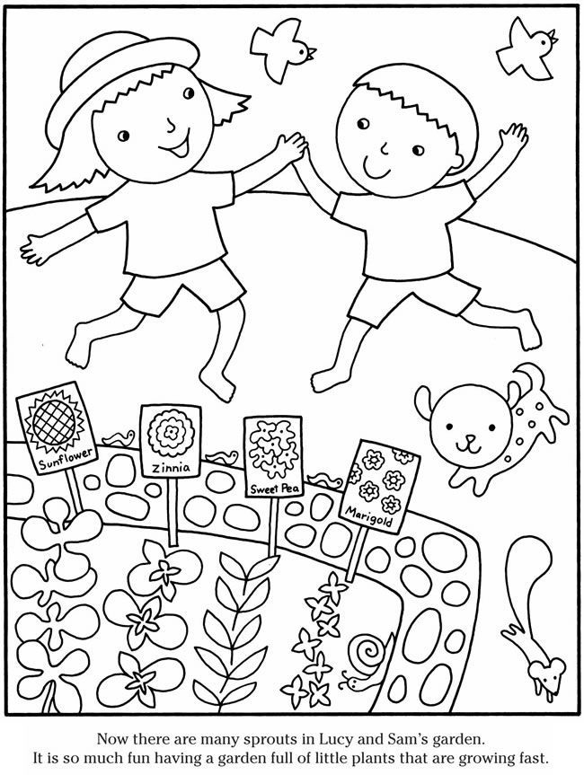garden coloring page gardening coloring pages to download and print for free garden coloring page