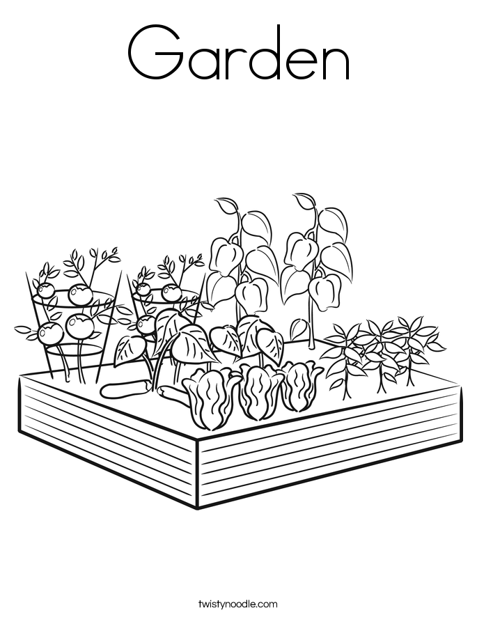 garden coloring page kids gardening coloring pages free colouring pictures to print garden coloring page