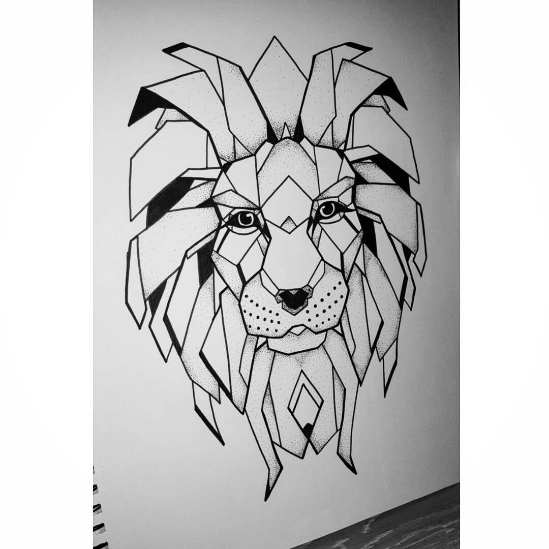 geometric lion coloring page boho lion with sacred geometry adult coloring book page lion geometric page coloring