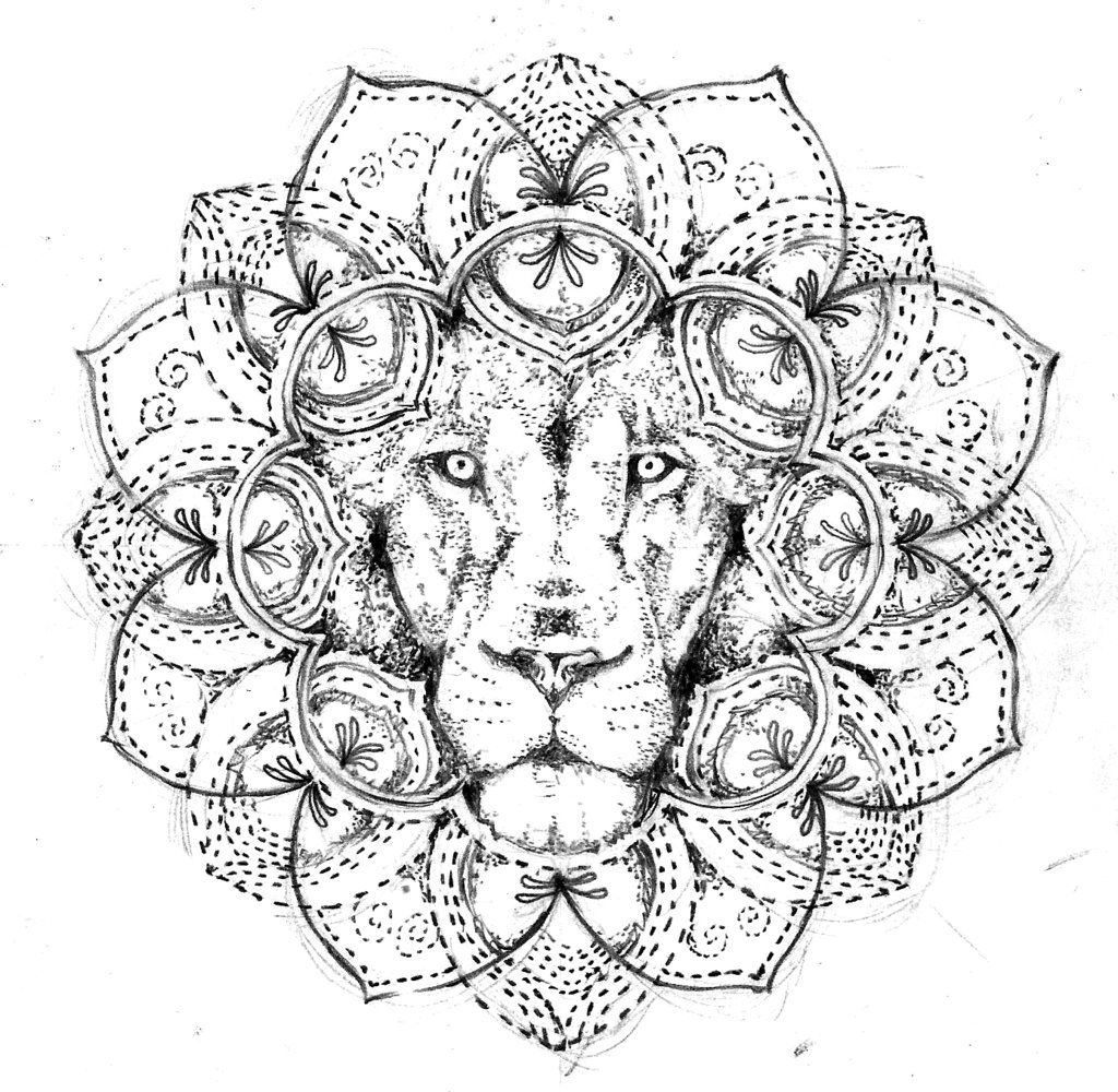 geometric lion coloring page geometric lion drawing at getdrawings free download lion coloring page geometric