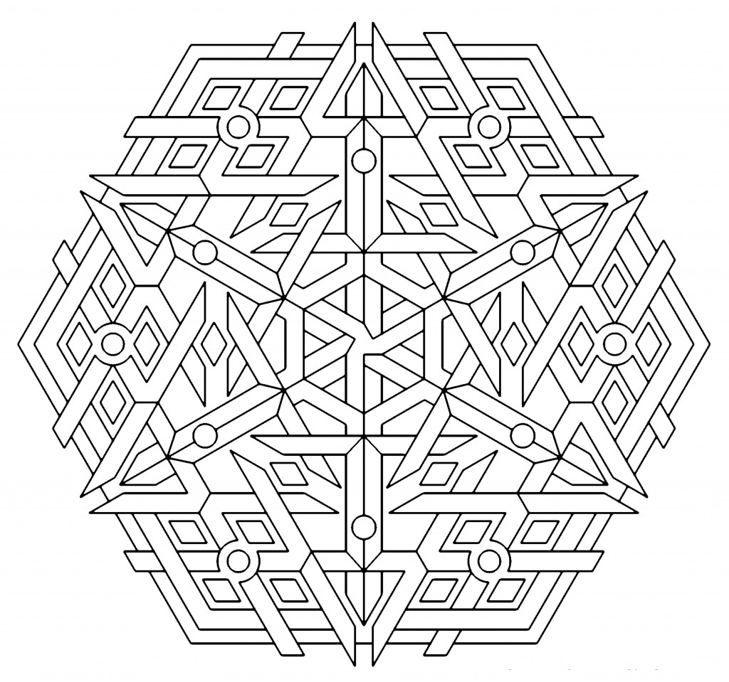 geometric patterns to color free printable geometric coloring pages for kids color to geometric patterns