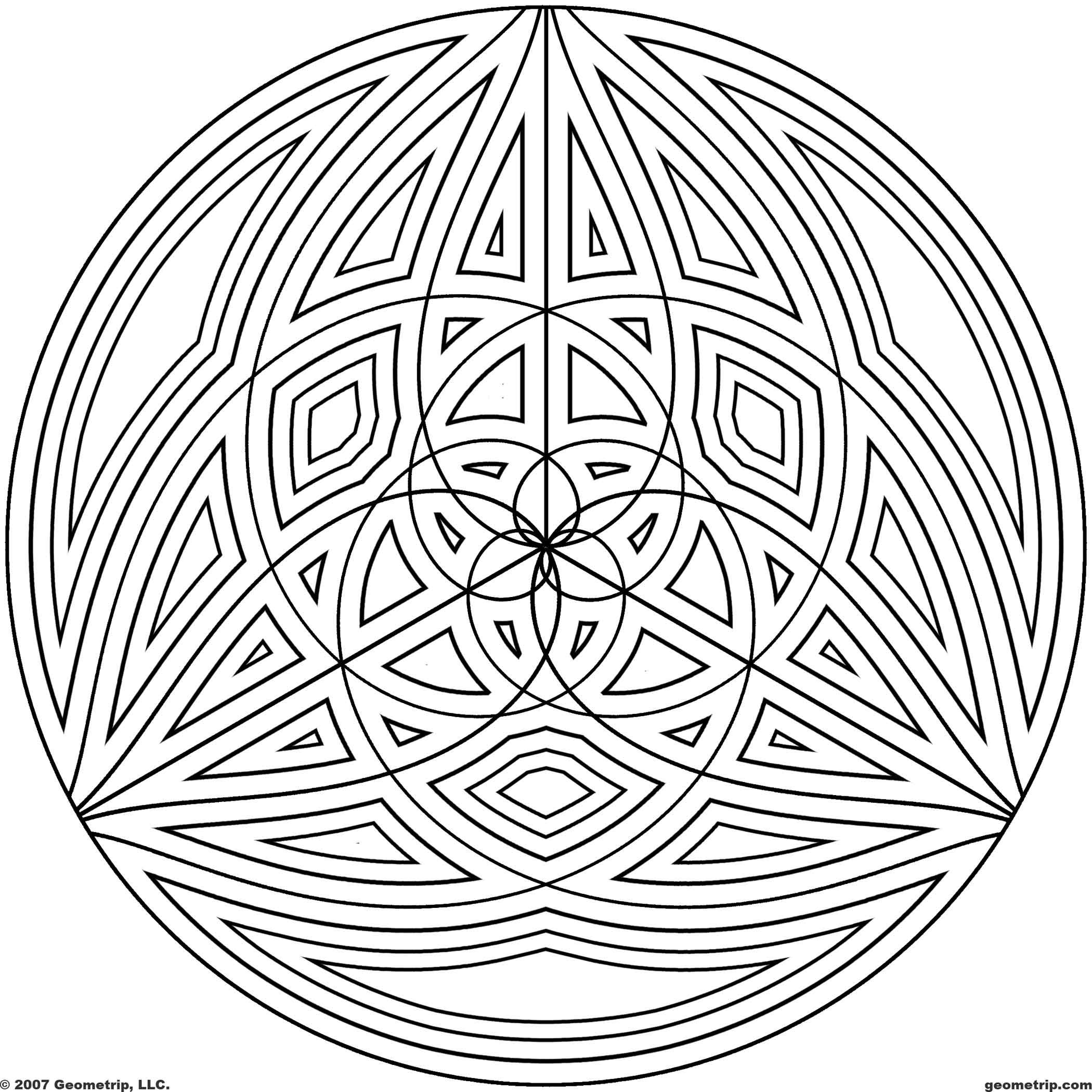 geometric patterns to color free printable geometric design coloring pages coloring home to geometric color patterns