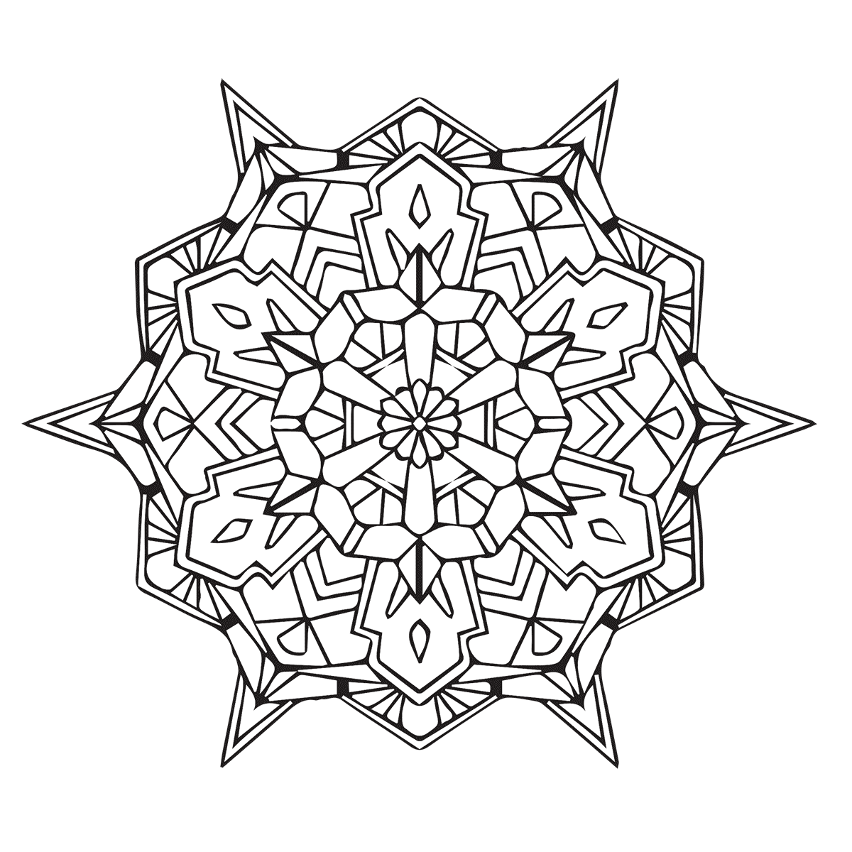 geometric patterns to color geometric coloring pages for adults coloring home geometric to color patterns