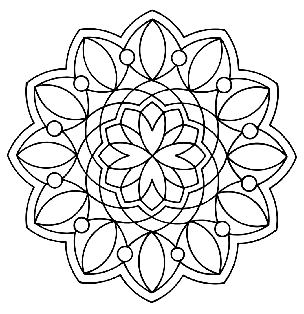 geometric patterns to color geometric mandala coloring page patterns geometric color to