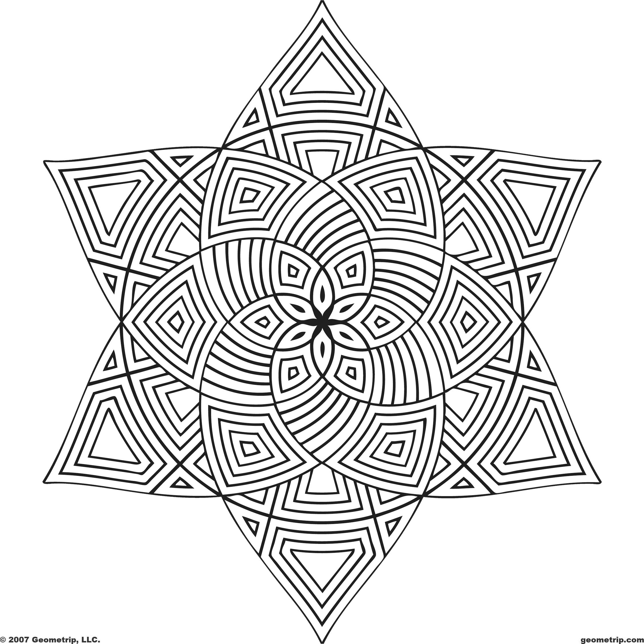 geometric patterns to color geometric shape coloring pages coloring home to patterns color geometric