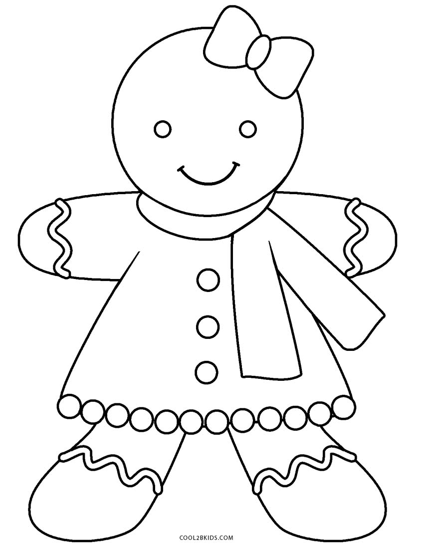 gingerbread coloring pages gingerbread man coloring pages to download and print for free pages gingerbread coloring