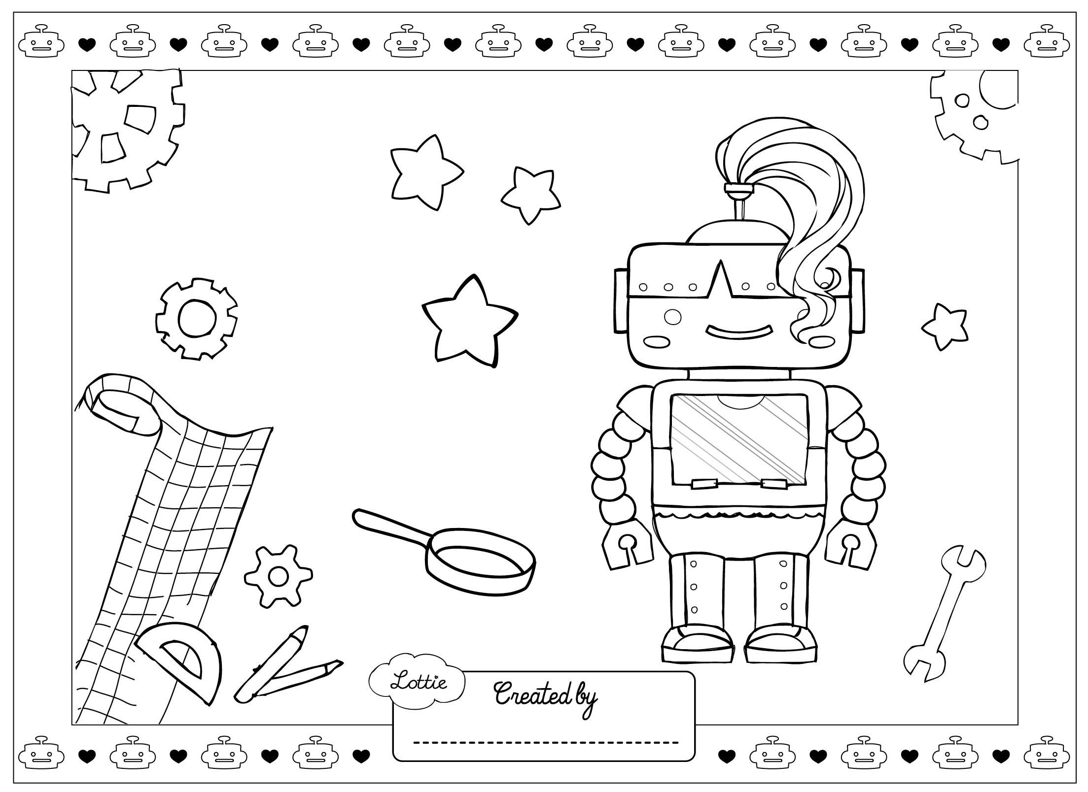 girl robot coloring pages doctor lego girl robot coloring page coloring sheets coloring girl pages robot