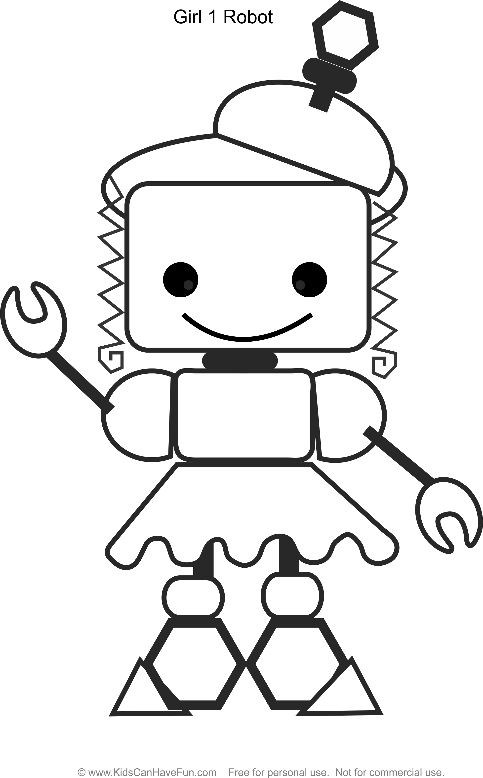 girl robot coloring pages free printable robot girl coloring page pages coloring girl robot
