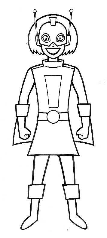 girl robot coloring pages how to draw jenny xj9 from my life as a teenage robot robot girl pages coloring