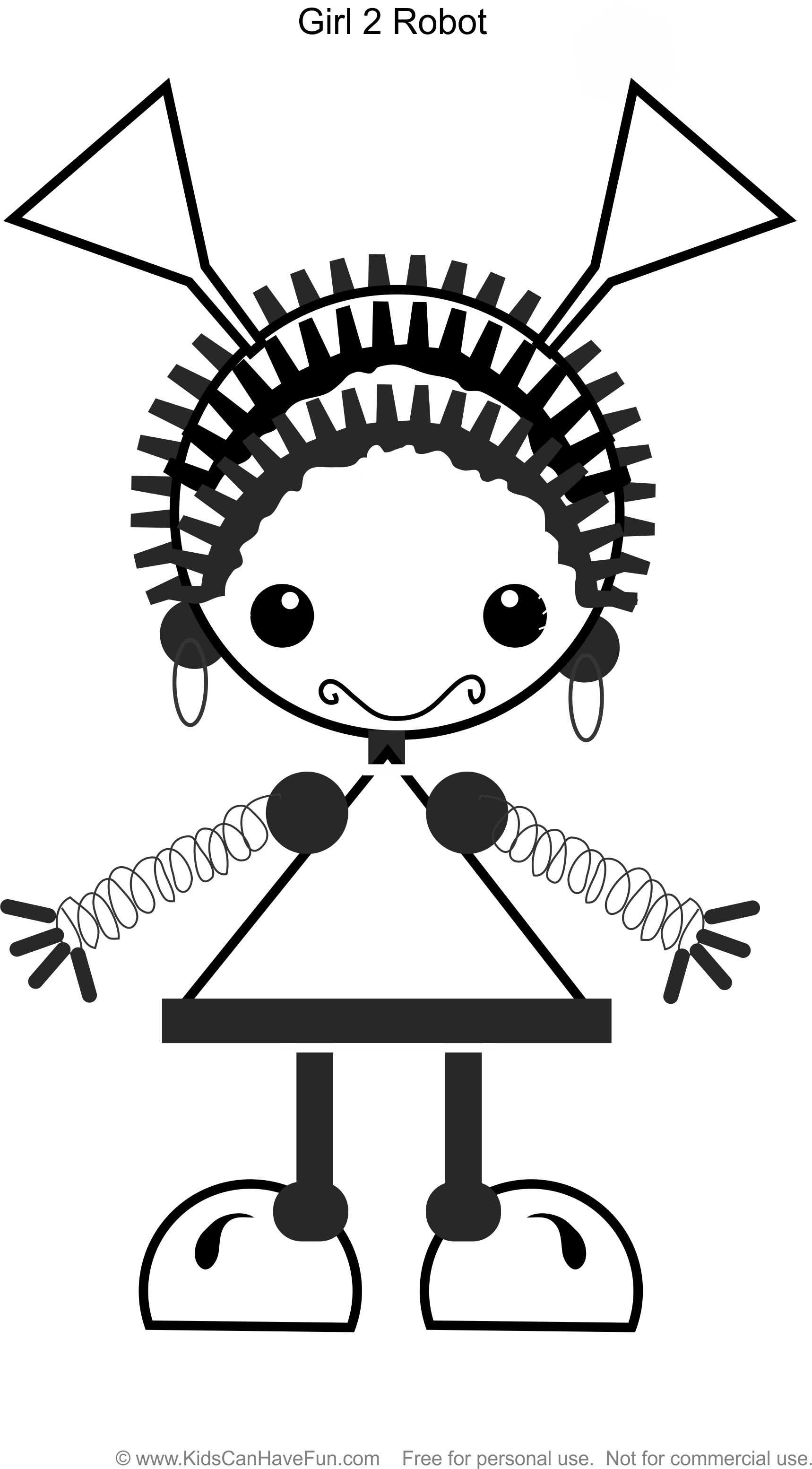 girl robot coloring pages robot coloring pages free download on clipartmag robot girl pages coloring